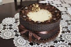 Kinder bueno cake Stock Photo