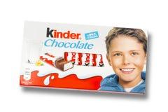 Kinder chocolate bars Royalty Free Stock Photography