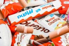 Kinder Chocolate Royalty Free Stock Photo