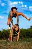 Kinder, die Spaß haben Stockfotografie