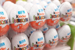 Kinder eggs Royalty Free Stock Image