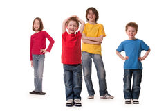 Kinder everywere Lizenzfreies Stockbild