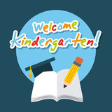 Kinder garten scenary. Icon vector illustration design graphic Royalty Free Stock Photography