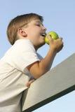 Kinder: Gesundheit und Nahrung Lizenzfreie Stockfotos