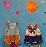Kinder-Kleidung stockfoto