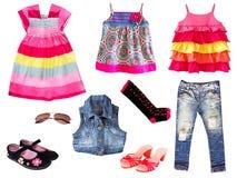 Kinder-Kleidung. Lokalisiert. Lizenzfreie Stockfotos