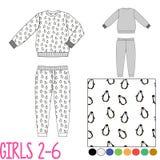 Kinder-Kleidungssätze Lizenzfreies Stockbild