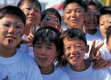 Kinder-Korea-Weltcup 2002 Lizenzfreie Stockbilder