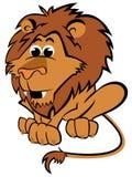 Kinder-Löwe-Maskottchen Lizenzfreie Stockbilder