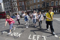 Kinder in London Stockfoto