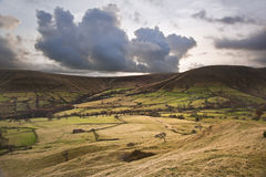 Kinder Low and Brown Knoll in Peak District Stock Photography