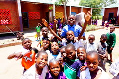 Kinder in Malawi, Afrika Lizenzfreie Stockfotografie