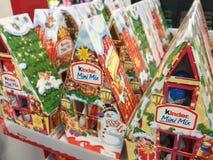 Kinder Mini Mix Advent Calendar stock photos