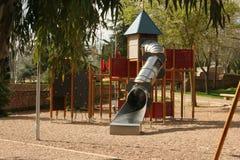 Kinder parken Schloss stockfoto