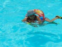 Kinder am Pool - Sharm EL Shiekh Ägypten lizenzfreies stockbild