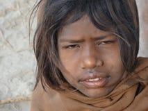 Kinder in Rishikesh Stockfotos
