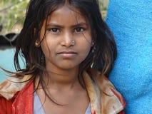 Kinder in Rishikesh Lizenzfreie Stockbilder