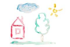 Kinder `s Abbildung Stockbilder