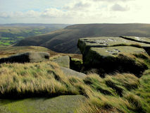 Kinder Scout, Derbyshire. Stock Photography