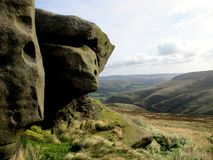 Kinder Scout, Derbyshire. Stock Photo