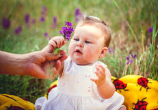 Kinder sind Blumen Lizenzfreies Stockfoto