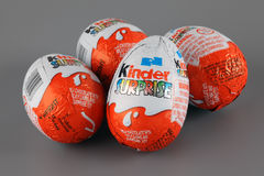Kinder Surprise Royalty Free Stock Photos