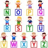 Kinder u. Blöcke [N-Z] Lizenzfreies Stockbild