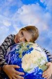 Kinder und Ökologie Lizenzfreie Stockfotos