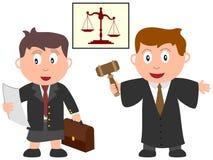 Kinder und Jobs - Gesetz Lizenzfreie Stockfotos