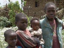Kinder von Afrika Stockfotos