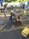 Kinder von Afrika Stockbild