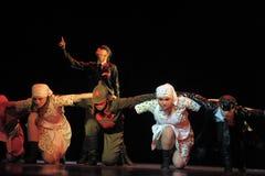 Kinder von der Tanzgruppe Stockbild