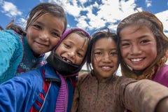 Kinder von Himachal Pradesh Stockfoto
