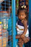 Kinder von Indien Stockfoto