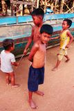 Kinder von Kambodscha Lizenzfreies Stockfoto