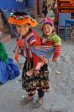 Kinder von Peru Lizenzfreies Stockbild