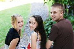 Kinder zusammen stockfoto