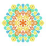 Kinderachtig Hexagon Ornament Royalty-vrije Stock Fotografie