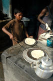 Kinderarbeit in Indien. Stockfotos
