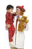 Kinderarzt stockbild