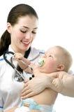 Kinderarzt Lizenzfreie Stockfotos