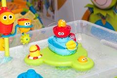 Kinderbadezimmerspielzeug Stockfotografie
