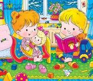 Kinderdagverblijf Royalty-vrije Stock Afbeelding