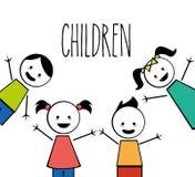 Kinderdesign Stockfotografie