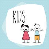 Kinderdesign Stockfotos