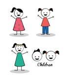 Kinderdesign Stockbild
