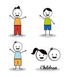 Kinderdesign Lizenzfreies Stockfoto