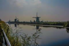 Kinderdijk στοκ φωτογραφία
