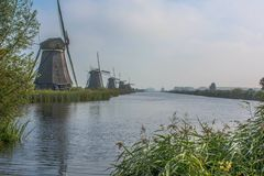 Kinderdijk στοκ φωτογραφίες με δικαίωμα ελεύθερης χρήσης