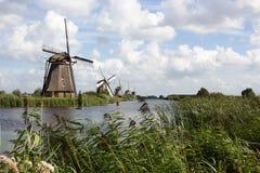 Kinderdijk Royaltyfria Bilder